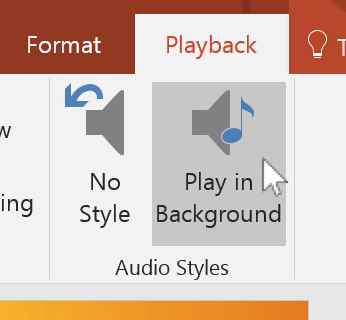 PowerPoint Add Audio