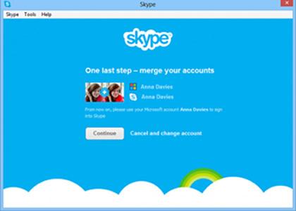Skype merge with IM