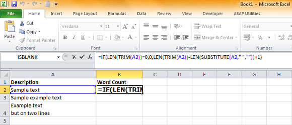 Excel Word Count1