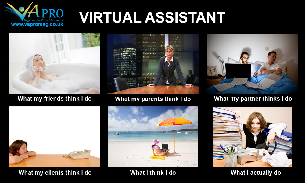 Virtual Assistant Meme