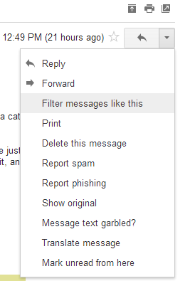 Gmail Filters (1)