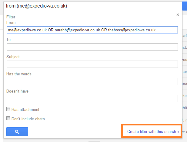 Gmail Filters (2)