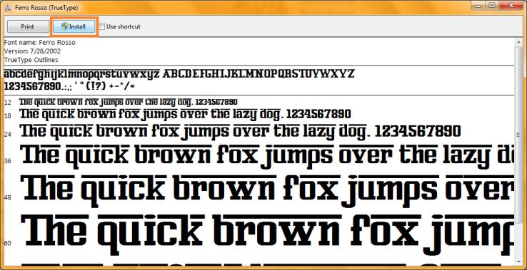 Install Font (3)
