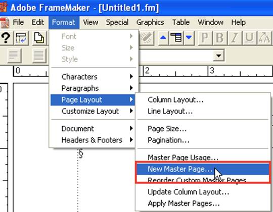 How to Create and Apply Master Pages in Adobe Framemaker | VA Pro ...
