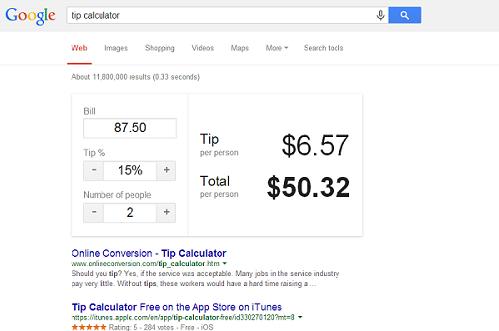 Google Tricks (1)