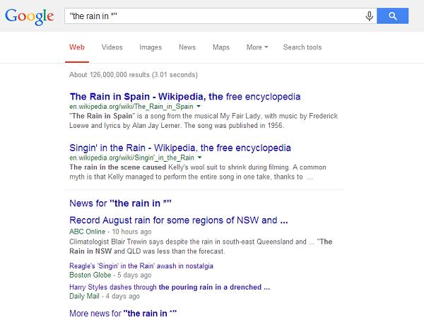 Google Tricks (8)