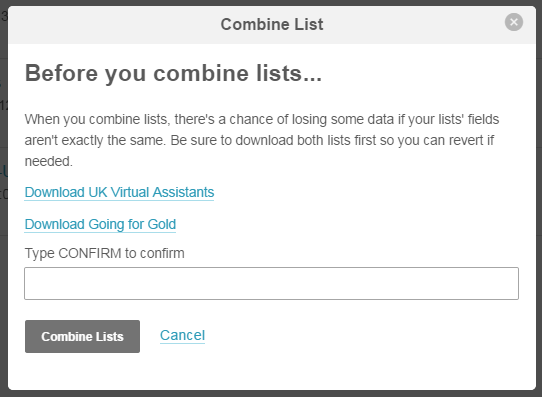 Mailchimp Combine Lists (2)