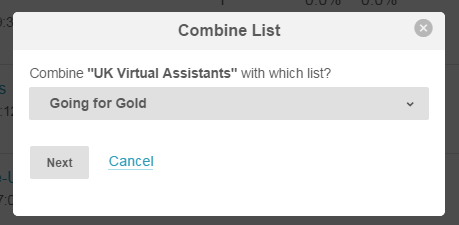 Mailchimp Combine Lists (3)