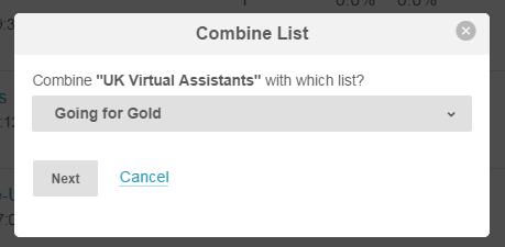 Mailchimp Combine Lists (3)