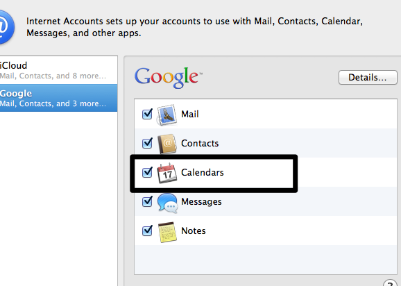 Sync Google and iCal (3)