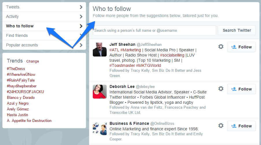 Twitter Discover Tool 5
