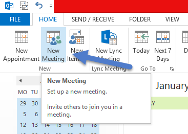 Outlook Meetings 10