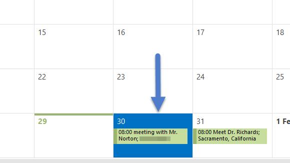 Outlook Meetings 16