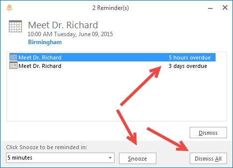 Outlook Meetings 8
