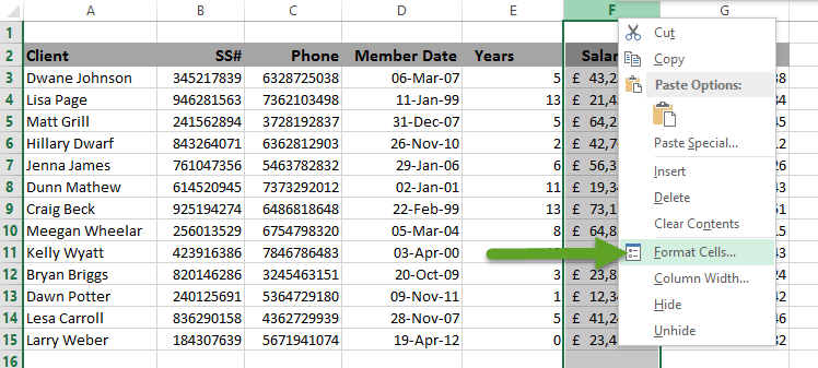 how to put scientific notation in excel