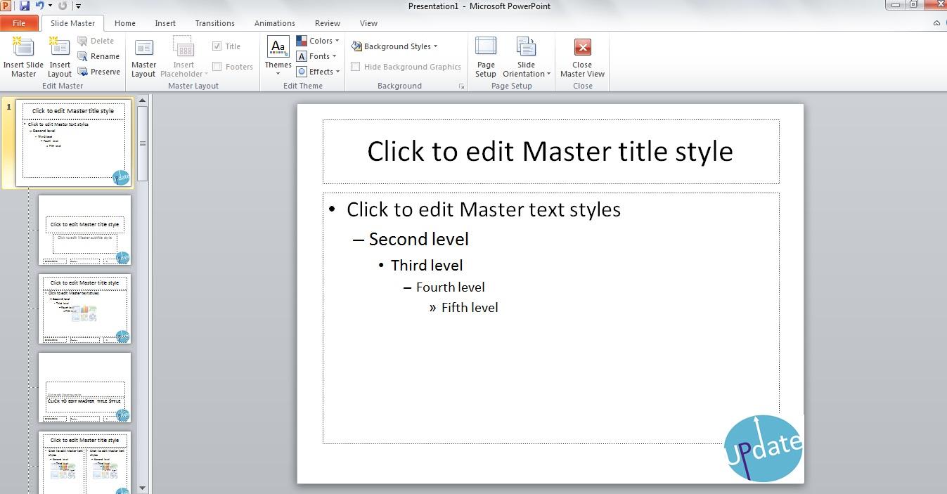 PPT Slide Master 4