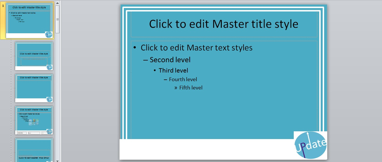 PPT Slide Master 9