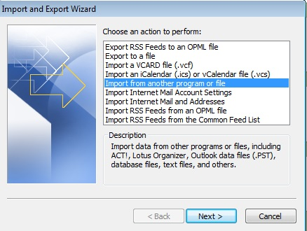 How to import a list of events into your Outlook Calendar | VA Pro