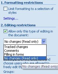 how to create editable fields in word