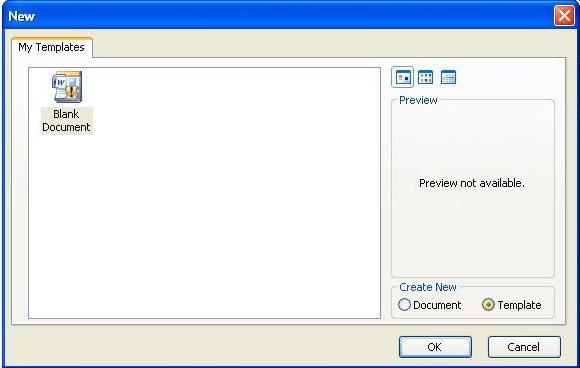Editable Form Word 5